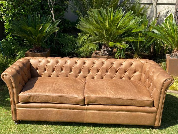 Modern Chesterfield 2 Seater
