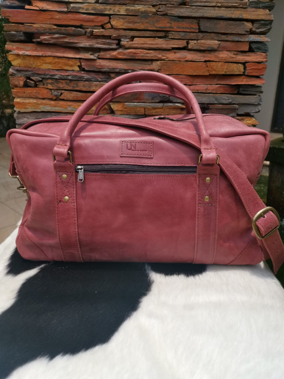 Executive Travel / Sport Bag - Cherry Red