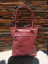 Load image into Gallery viewer, The Shopper Bag - Cherry Red