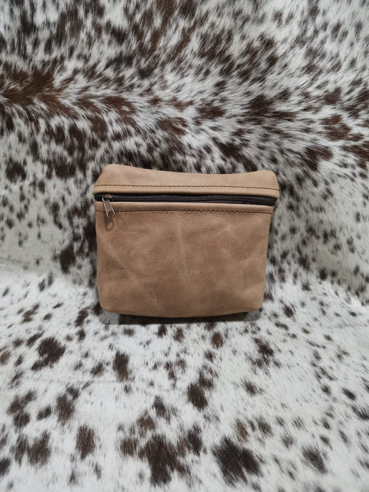 Make-Up Bag - Matt Toffee