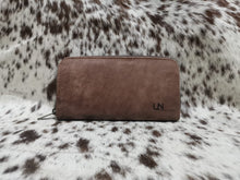 Load image into Gallery viewer, Ladies Wallet - Matt Dark Brown