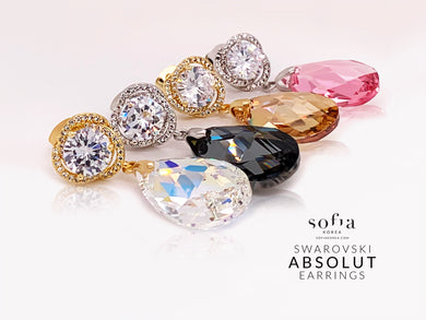 Absolut Earrings - Sofiakorea
