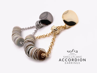 Accordion Earrings - Sofiakorea