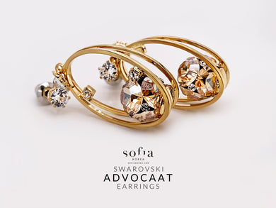 Advocaat Earrings - Sofiakorea