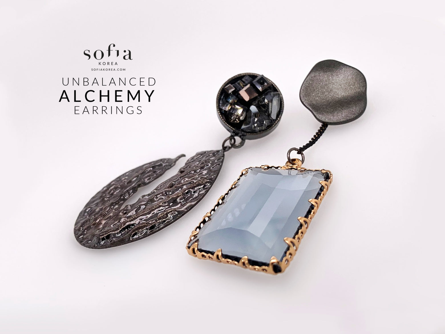 Alchemy Earrings - Sofiakorea