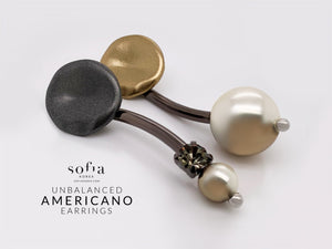 Americano Earrings - Sofiakorea