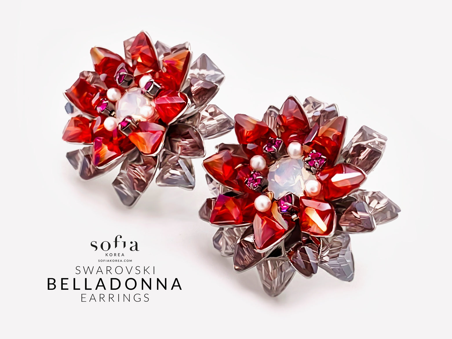 Belladonna Earrings - Sofiakorea