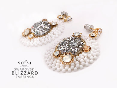 Blizzard Earrings