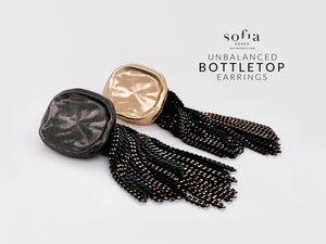 Bottletop Earrings - Sofiakorea