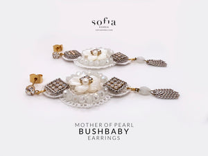 Bushbaby Earrings - Sofiakorea