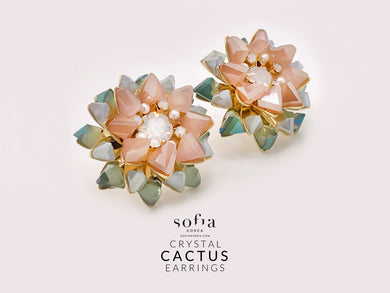 Cactus Earrings - Sofiakorea