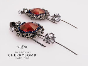 Cherrybomb Earrings - Sofiakorea