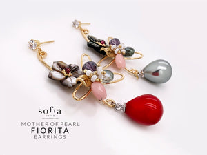 Fiorita Earrings - Sofiakorea