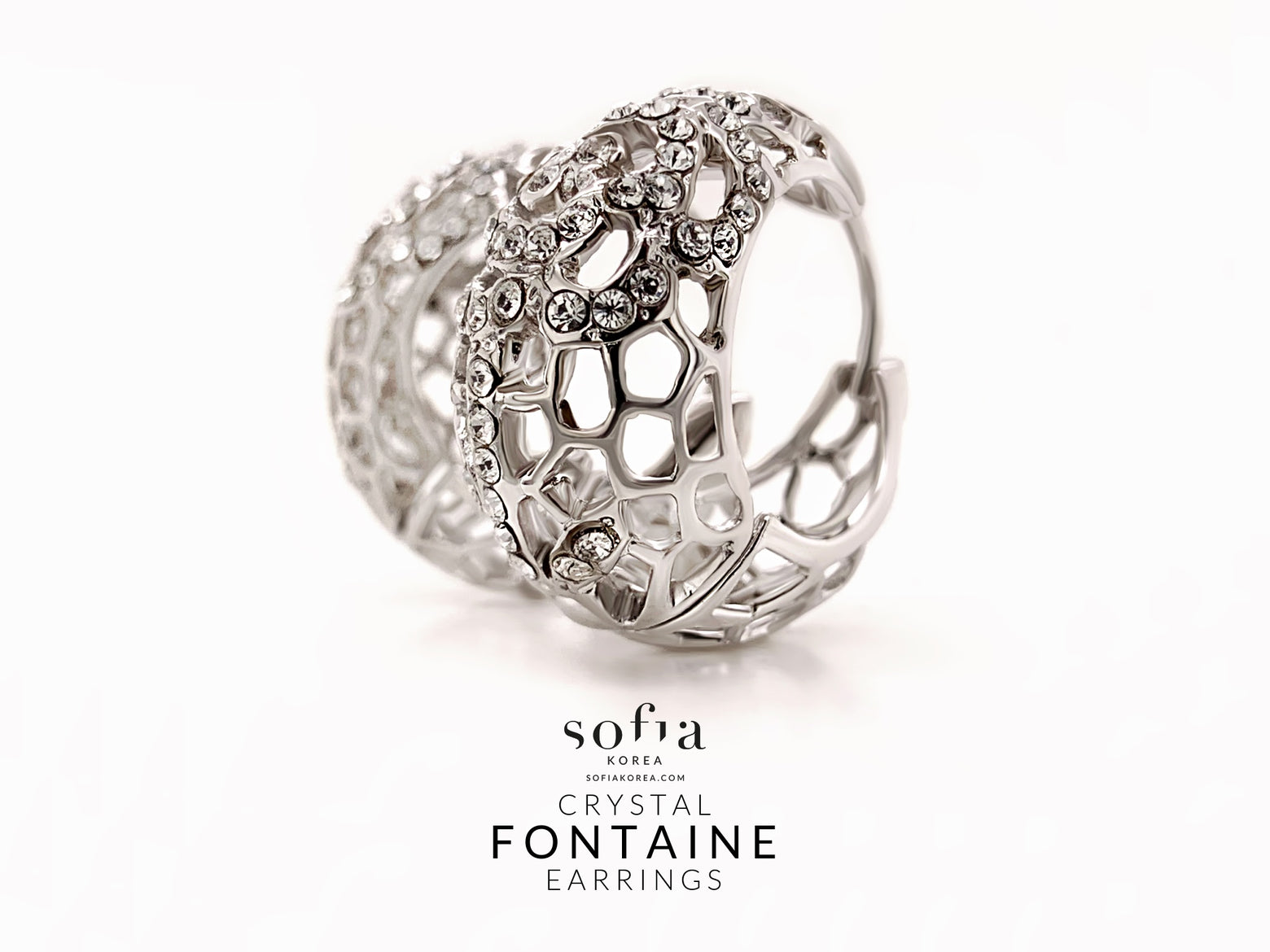 Fontaine Earrings - Sofiakorea