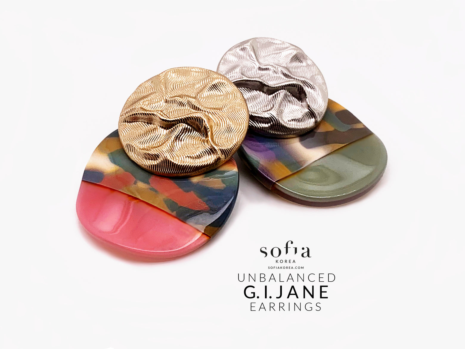 G.I. Jane Earrings - Sofiakorea