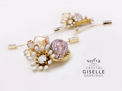 Giselle Earrings - Sofiakorea