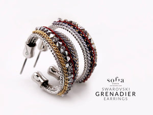 Grenadier Earrings - Sofiakorea