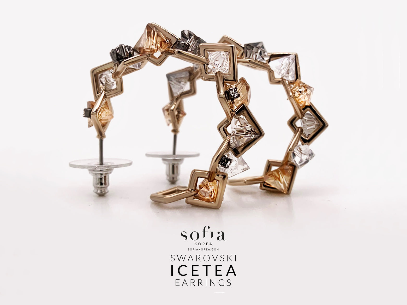 Ice Tea Earrings - Sofiakorea