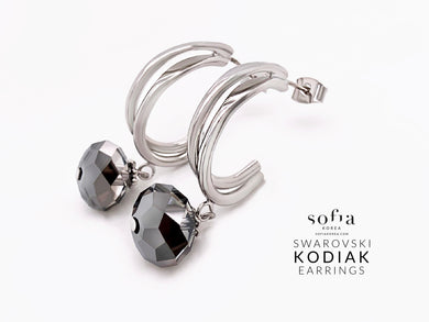 Kodiak Earrings - Sofiakorea