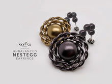 Nest Egg Earrings - Sofiakorea