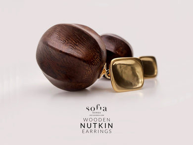 Nutkin Earrings - Sofiakorea