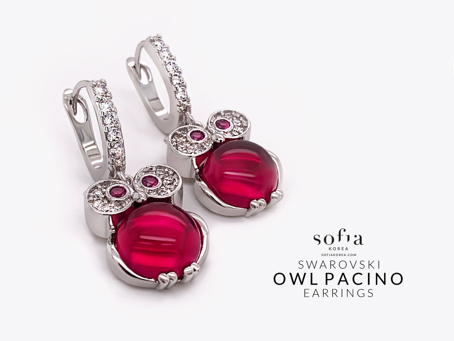 Owl Pacino Earrings - Sofiakorea