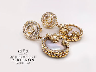 Perignon Earrings - Sofiakorea
