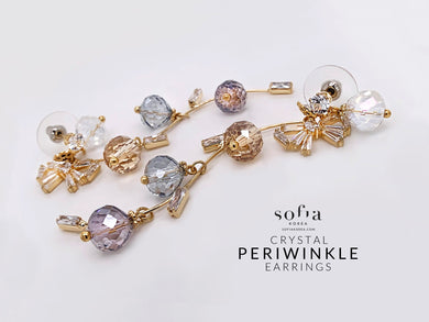 Periwinkle Earrings - Sofiakorea