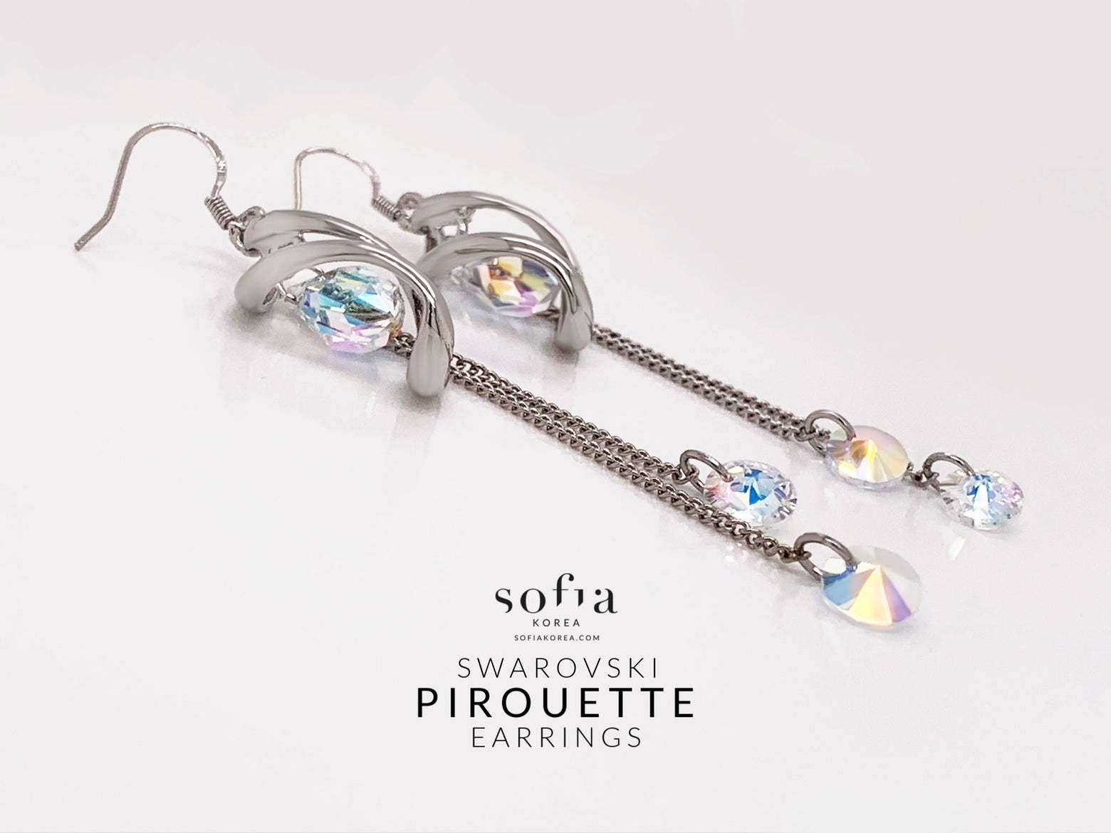 Pirouette Earrings - Sofiakorea