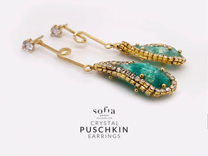Puschkin Earrings - Sofiakorea