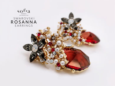 Rosanna Earrings - Sofiakorea