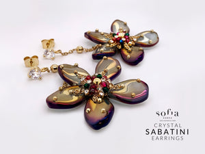 Sabatini Earrings - Sofiakorea