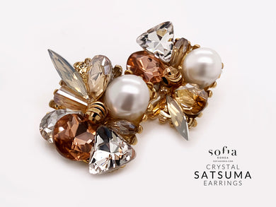 Satsuma Earrings - Sofiakorea