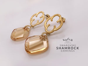Shamrock Earrings - Sofiakorea
