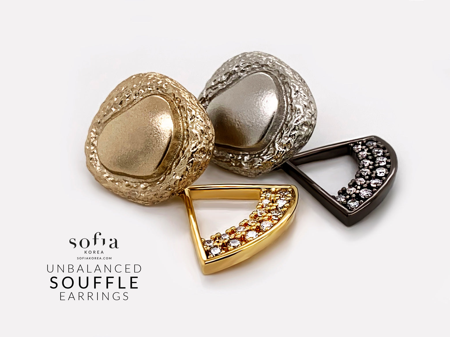 Souffle Earrings - Sofiakorea