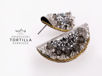 Tortilla Earrings - Sofiakorea