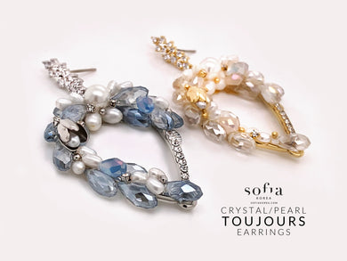 Toujours Earrings - Sofiakorea