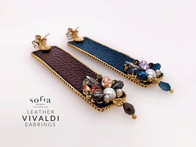 Vivaldi Earrings - Sofiakorea