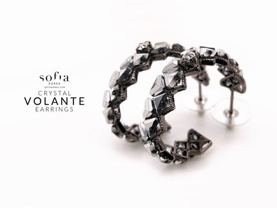 Volante Earrings - Sofiakorea