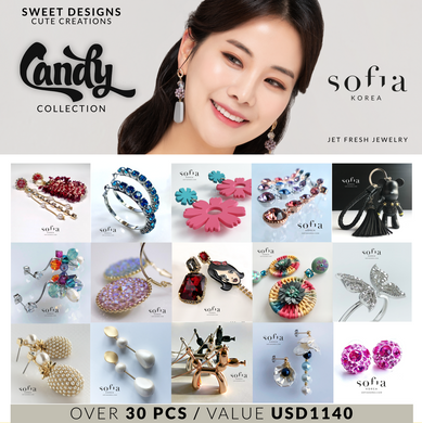Candy Collection Starter Pack - Sofiakorea