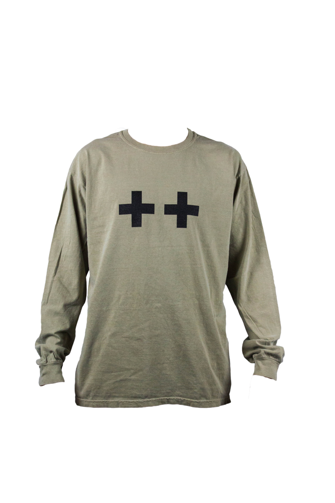 Khaki Win Win Long Sleeve