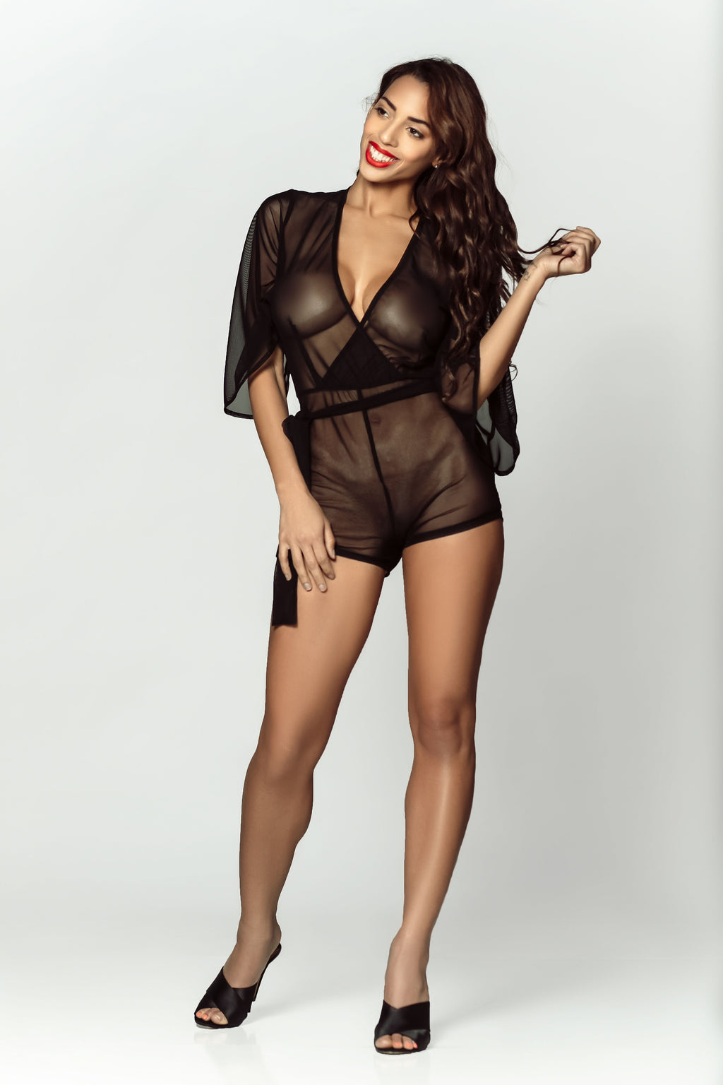 buy sexy black lingerie online from damita belle