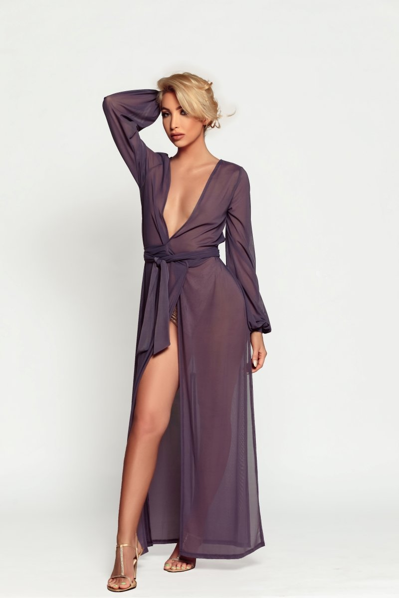sexy robe lingerie set online for cute outfits | Damita Belle