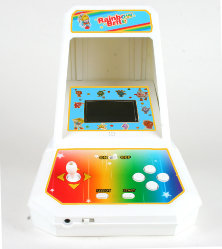 Journey to Rainbow Land Mini Arcade by Coleco