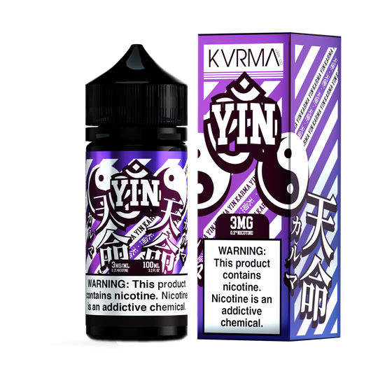 Yin - Karma Vape Co. 100ml