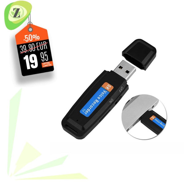Enregistreur vocal USB 2.0