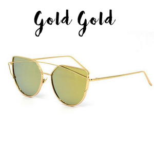 Twin Beam Cat Eye Sunglasses (Special Offer)