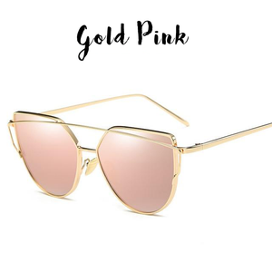 Twin Beam Cat Eye Sunglasses