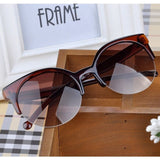 Semi-Rimless Sunglasses - On Sale! FREE SHIPPING!!!