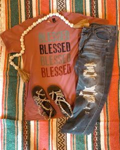 Blessed X4 Tee